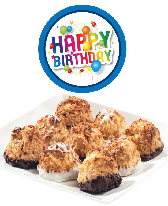 Birthday Jumbo Coconut Macaroon Gifts