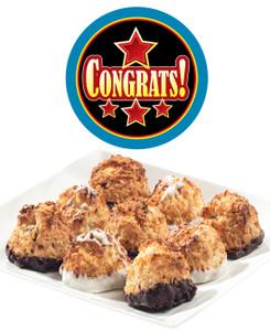 Congratulations Jumbo Coconut Macaroons