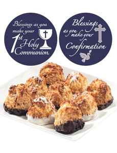 COMMUNION/CONFIRMATION - JUMBO COCONUT MACAROONS