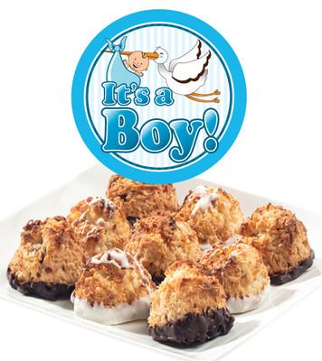 Baby Boy Jumbo Coconut Macaroons