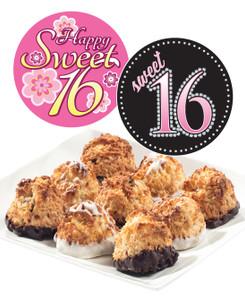 Sweet 16 Jumbo Coconut Macaroons