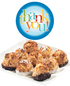 Thank You Jumbo Coconut Macaroons