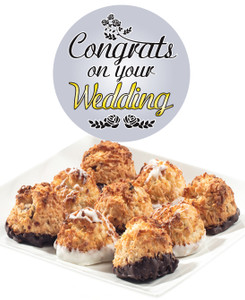 WEDDING JUMBO COCONUT MACAROONS