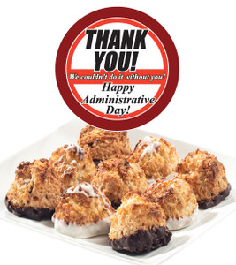 Admin/Office Staff Jumbo Coconut Macaroons