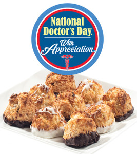 Doctor Appreciation Jumbo Coconut Macaroons