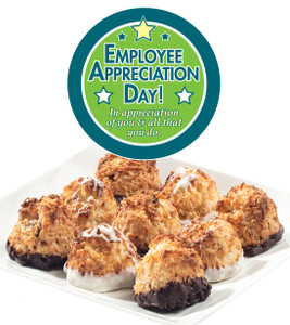Employee Appreciation  Coconut Jumbo Macaroons