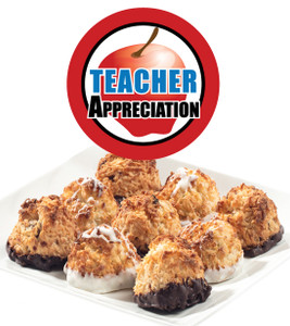 Teacher Appreciation Jumbo Coconut Macaroons