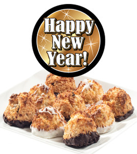 HAPPY NEW YEAR COCONUT MACAROONS