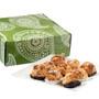 Custom Jumbo Coconut Macaroon Green Box