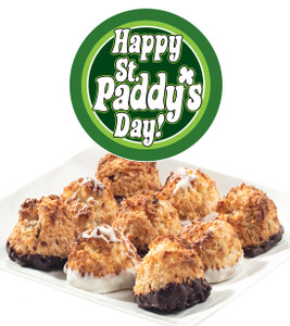 St.Patricks Day Jumbo Coconut Macaroons