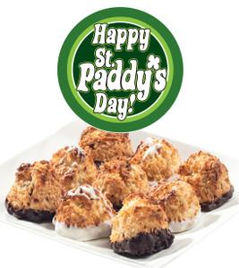 St Patrick's Day Jumbo Coconut Macaroons
