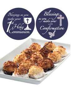 COMMUNION/CONFIRMATION - MINI COCONUT MACAROONS