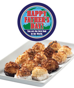 Father's Day Mini Coconut Macaroons