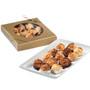 Custom Mini Coconut Macaroon Gold Box