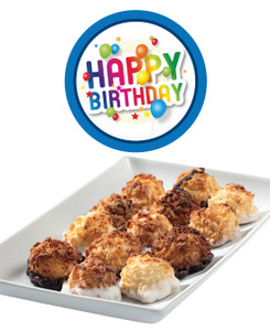 BIRTHDAY MINI COCONUT MACAROONS