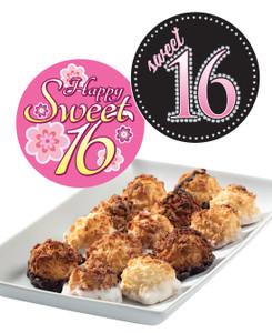 Sweet 16 Mini Coconut Macaroons