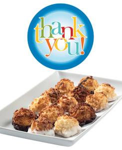 Thank You Mini Coconut Macaroons