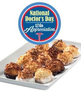 Doctor Appreciation Mini Coconut Macaroons