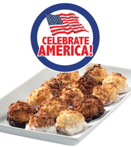 Celebrate America Bite-Sized Coconut Macaroons