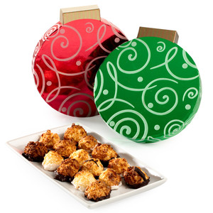 CHRISTMAS MINI MACAROONS NOVELTY BOX