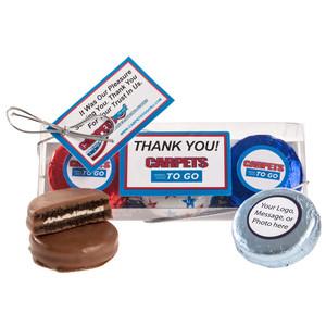 Business Cookie Talk Chocolate Oreo & Marshmallow Trio