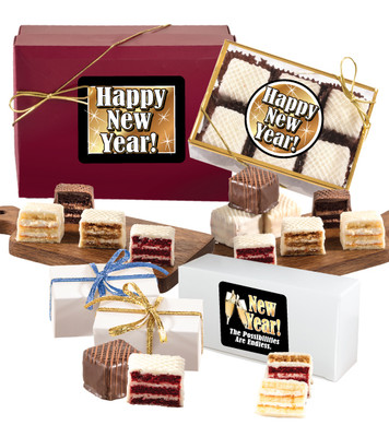 Happy New Year Petit Fours