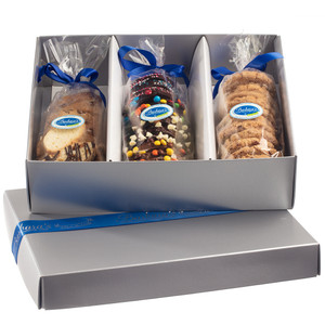 Signature Gift Box 3lbs Custom Triple Cookie Assortment