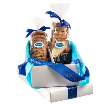 Signature Gift Box 1lb Custom Duo Cookie Assortment