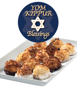 Yom Kippur Mini Coconut Macaroons