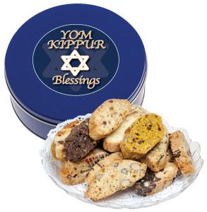 Yom Kippur Biscotti Tin