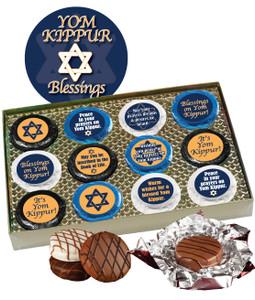 Yom Kippur Cookie Talk Chocolate Oreo 12pc Gift Box