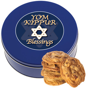 Yom Kippur Chocolate Chip Cookie Tin