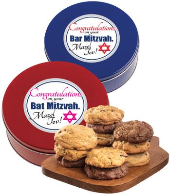 Bar/Bat Mitzvah Assorted Cookie Scone Tin
