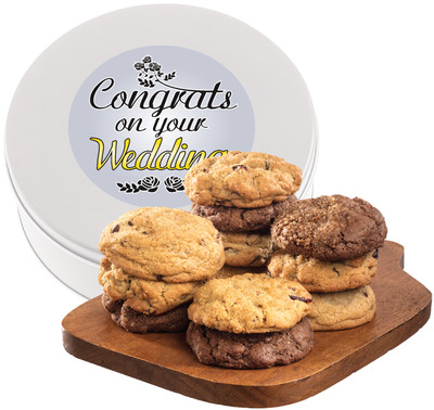 Wedding Assorted Cookie Scone Tin