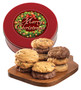 Christmas Assorted Cookie Scones - Red Tin