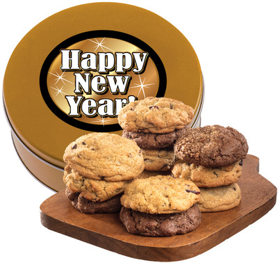 Happy New Year Assorted Cookie Scones