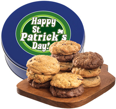 St Patrick's Day Assorted Cookie Scones