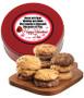 Happy Valentine's Day Assorted Cookie Scones