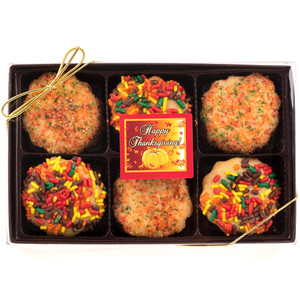 Thanksgiving 12pc Butter Cookie Gift Box