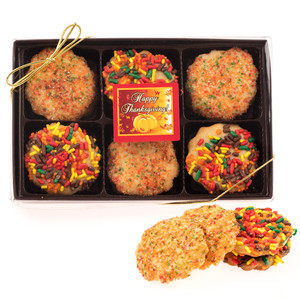 Thanksgiving Butter Cookie 12 Pc. Gift Box