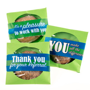 Business Thank You - Cookie Scones With Messages
