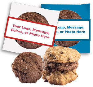 """Create-Your-Own"" Custom  Message Cookie Scone Singles"