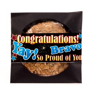 Congratulations Cookie Scone Single