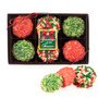 Christmas Butter Cookies 12pc Gift Box Greetings