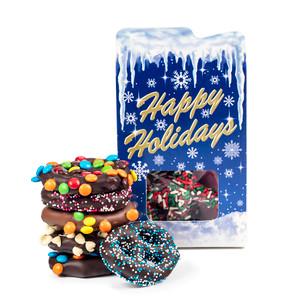 Happy Holidays Pretzel Box