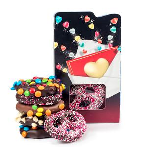 Valentines Day Chocolate Pretzel Gift