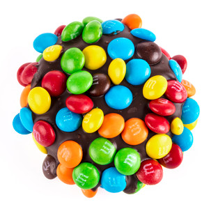 Chocolate Oreo with Mini M&Ms