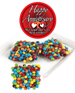 Anniversary Chocolate Grahams w/ M&Ms