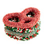 Christmas Gourmet Decorated Pretzels - Duo