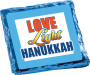 Love Light Hanukkah Chocolate Graham